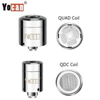 Original Yocan Loaded Replacement Coils QUAD Coil Quartz Dua...