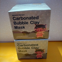 BIOAQUA уход за кожей свиной кожи коллаген питательная маска газированные пузырь глина Маска Elizavecca молочный поросенок увлажняющий маски для лица сна 080