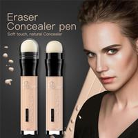 Nouveau stylo effaceur effaceur à huile contrôlée pour éclaircir le correcteur professionnel de pores de rousseur enlever la base de la palette de contour de la palette de crayon correcteur