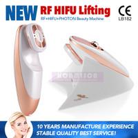 مصغرة آلة hifu للاستخدام المنزلي بالموجات rf الوجه آلة تجديد الجلد لإزالة التجاعيد شد الوجه dhl شحن مجاني