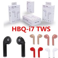 HBQ I7 I7S TWS Twins Wireless Bluetooth Headphones Earbuds E...