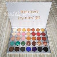 Il nuovo trucco Palette di bellezza smaltata Eyeshadow Palette 35 colori Colpito bellezza È opaca di luccichio della gamma di colori smaltato marchio di cosmetici