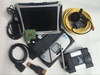 BMW Teşhis Aracı Için WiFi ICOM Sonraki Pro Kullanılan Dizüstü Bilgisayarlar CF19 Dokunmatik HDD 500GB İsta Win7