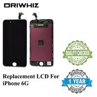 10PCS Oriwhiz للحصول على جودة شاشة تعمل باللمس LCD محول الأرقام التي تعمل باللمس مع استبدال الإطار الجمعية ل 6 G فون 6P Lcd ريال صور