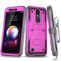Defender Hybrid Shockproof Rugged Case With Screen Film Clip...
