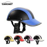 Мотоциклетный Шлем Регулируемый Мотокросс Полуоткрытые Шлемы Мягкая Бейсболка Стиль Велосипедный Шлем 7 Цвет 55-60 СМ ГОРЯЧИЕ