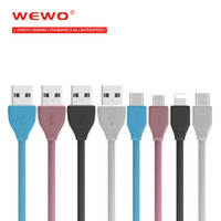 Wewo 2. 4A White Fast Charger Micro USB Cable Type C Sync Dat...