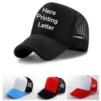 Cappello da baseball personalizzato personalizzato Cappello da baseball personalizzato Cappello da baseball bianco nero Cappello estivo attivo da sole