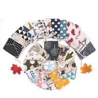 Печатный хлопок мешок 50 шт. / лот 9x12 см мода ювелирные изделия дисплей упаковка Drawstring мешки свадьба Рождество упаковка 100% хлопок мешок