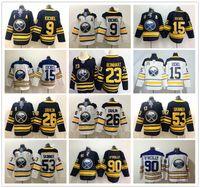 New Arrival. Buffalo Sabres Hockey 9 Jack Eichel Jersey Blue White 26 ... 7cf6f9c86