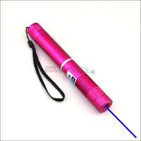 BX4-A 450nm ROSSO Fuoco regolabile Penna puntatore laser blu Penna leggera Lazer Beam Laser blu