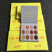 Colourpop Cosmetics 12 색 아이 섀도우 네, 제발! 아이 섀도우 팔레트 프레스 파우더 아이섀도 팔레트 DHL 무료 배송