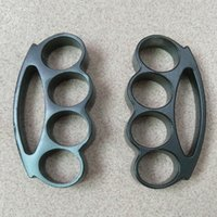 Thick and heavy 18mm steel BRASS KNUCKLE DUSTERS BUCKLE defe...
