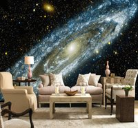 Custom Any Size 3D Wall Mural Wallpaper Galaxy Starry Nebula...