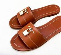 플립 플롭 유럽과 미국의 새로운 플라스틱 체인 비치 신발 캔디 컬러 젤리 샌들 체인 샌들 밖으로 플랫 바닥