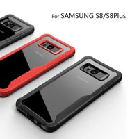 Multi- color selection TPU Frame HD transparent Back Cover fo...