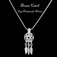 Special Design Silver Dream catcher Cage Pendants Dreamcatch...