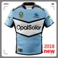 0ae7e61ed99 Hot sales 2018 2019 CRONULLA SHARKS rugby Jerseys home away ALTERNATE NRL  National Rugby League nrl Jersey Cronulla Sharks shirt s-3xl