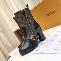 2018 new fashion luxury brand high quality Ankle Boots with ...