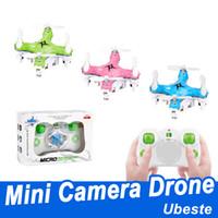 Мини Rc вертолет самолет Drone Quadcopter 2.4 G 4CH 4-осевой беспилотный летательный аппарат mini drone с камерой для детей игрушка подарок
