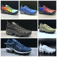 2019 Nova Chegada tn shoes tn mais mulheres dos homens Tênis de Corrida Clássico Ao Ar Livre tn Preto Branco Esporte Sapatilhas de Choque mens shoes tamanho 12