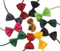 19 Colors Adjustable Pet Dog Bow Tie Dog Tie Collar Flower A...