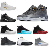 Mens Basketball Shoes Sneakers 12 12s white gym red Gamma Bl...