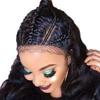 180% Density Full Lace Wigs With Baby Hair Pre Plucked Hairl...