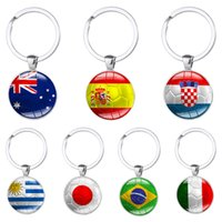 2018 Russia World Cup Football Keychains Key Ring 32 Countri...