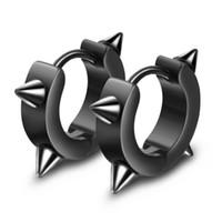 gioielli orecchini gioielli hip hop punk orecchini per gli uomini titanio perno in acciaio per il modo caldo di rocker esente da trasporto
