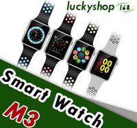 Smart Watch M3 Wearable Devices Electronics Orologio da polso Supporto SIM TF Card per smartphone Android Smartwatch 20pcs Drop Shipping