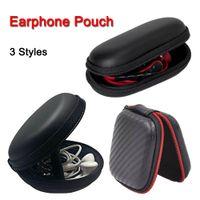 지퍼 가방 이어폰 케이블 미니 박스 SD 카드 휴대용 코인 지갑 헤드폰 EVA 운반 스토리지 파우치 포켓 케이스 커버 무선 헤드셋