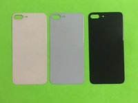 30 stücke Hohe Qualität Für iPhone 8G 8 Plus 8 + X Zurück Batterieabdeckung Tür Rückwand Glas gehäuse Mit Anhaftender Aufkleber Ersatz Freies DHL