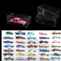 82 * 40 * 30 мм пустой ПВХ ясно пыли доказательство защиты дисплея коробка для спичечный коробок TOMY игрушка модель автомобиля 1/64 TOMICA горячие колеса показать коробку