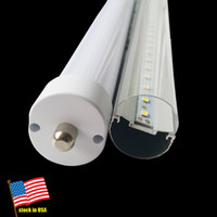 LED T8 Tube, 8ft 2400mm, FA8 R17D Single Pin Base, 45W 6000- 65...