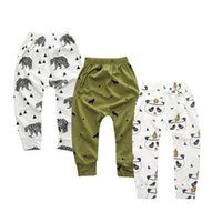 3 Pcs   Lot Leggings Atutmn Cartoon Baby Leggings Children T...