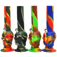 Camouflage Skull Silicone Water Pipe Newest Bong with Honey ...