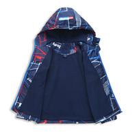 LILIGIRL Chaqueta de otoño para niños Chaqueta de invierno para niños Sudaderas con capucha Cazadoras Impermeables a prueba de viento Niños Chaquetas de moda 3-12y