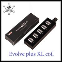2018 Evolve Plus XL Восковая катушка Quad Quatz Катушка с катушкой для Evolve Plus XL Набор для ручек DHL