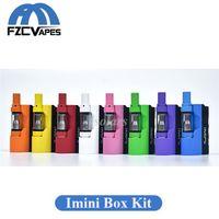 Kit originale Imini Box Mod Starter Kit 500mAh Vaporizzatore a olio denso con 0.5ml 1.0ml Libery V1 Car 100% originale