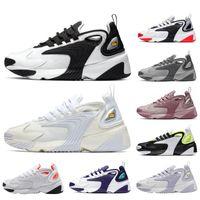 حار بيع الرجال والنساء الأحذية تأتي الجديد الاحذية سباق دسم الأبيض الأحمر الأزرق الملكي الرياضية حذاء رياضة تكبير 2K رجل مدرب حجم 36-45