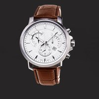 High Quality Mens Casual Watch Genuine Leather Strap Brand D...