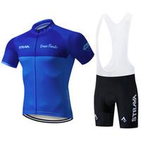 2020 Strava L'uomo in bicicletta Jersey Imposta Pro squadra manica corta Mtb vestiti di riciclaggio della bici della bicicletta Jersey