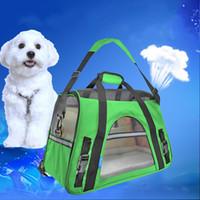 الكتف جانب القطط لينة جرو الناقل 600d أكسفورد القماش المحمولة حقيبة يد السفر الحيوانات الأليفة حبال الكلب للحيوانات الأليفة القط 65BD حقيبة e1 nqxtk