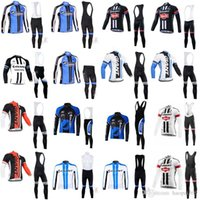 2019 Giant autumn Men' s Pro Team Cycling jersey Long Sl...
