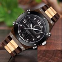 Gorben Бизнес Мужские часы деревянные Группа Вуд кварцевые наручные часы Мужские часы Мужской часы Мода Повседневная наручные часы