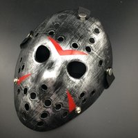 Jason Voorhees Friday the 13th Horror Movie Hockey Mask Scar...
