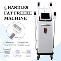 4 poignées cryo peuvent travailler ensemble machine minceur gel graisse corporelle mise en forme et le traitement élimination de la graisse
