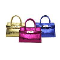 Venda quente dos miúdos Bolsas moda infantil Tote Bebés Meninas Mini Princesa bolsas transversal do corpo Bags Crianças doces sacos de moedas bolsas Presentes