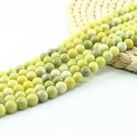 Olive Jade Bead 92pcs 4mm / strand Perle pietra preziosa naturale Produttore 15 pollici filo per set per monili che fanno